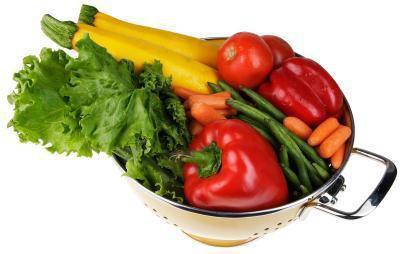 Verdure sane, dai colori vivaci