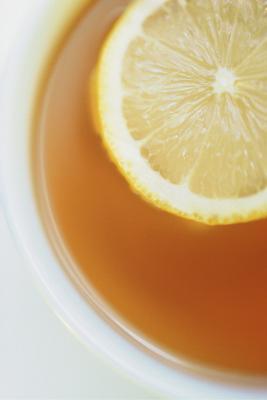 Casa tosse rimedio con olio, limone e miele