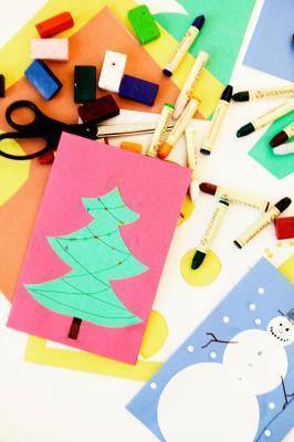 Natale divertente Art progetti per gli adolescenti