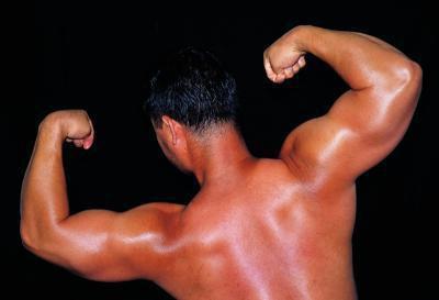Bodybuilding e cereali di frumento tagliuzzato