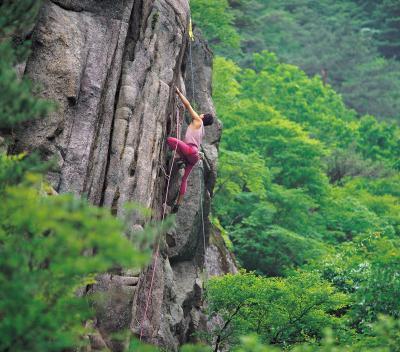 Rapporto peso-per-muscolo di arrampicata
